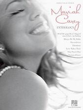 Mariah Carey Anthology Music Book Piano Guitar PVG NEW