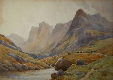 Alfred Fontville II DE BREANSKI (1877-1957) North Wales