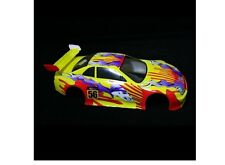 Redcat Racing 1/10 200mm Onroad Body Yellow Flame Lightning Part  01014