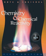 Chemistry and Chemical Reactivity, Acceptable, Purcell, Keith F., Kotz, John C.,