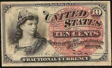 10 CENT FRACTIONAL 1869 - 1875 UNITED STATES NOTE CURRENCY OLD PAPER MONEY