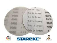 150mm Sanding Discs 6 inch STARCKE Film Sandpaper Hook & Loop Pads Grit 240-3000