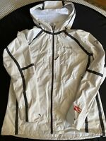 Columbia Sportswear Titanium Jacket Coat Out Dry White Large Womens Waterproof