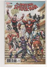 Amazing Spiderman #794 Dan Slott Stuart Immonen Avengers West Coast variant 9.6