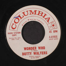 DOTTY WALTERS: Wonder Who / Maybe Baby Maybe 45 (dj, small wol, Teen) Oldies