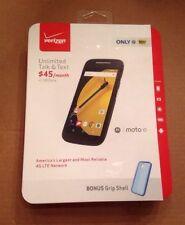 New Verizon prepaid Moto E (2nd Gen) 8GB XT1528 LTE phone unlockable