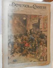 LA DOMENICA DEL CORRIERE 24 Ottobre 1926 Tragedia a Eilengen Canoa a New York di