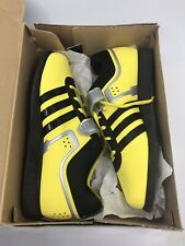 Adidas Powerlift 2.0 Mens Size 12 Yellow Weightlifting Shoes