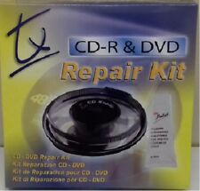 Traxdata TX CD & DVD XBOX 360 Ps2 Ps3 Wii Scratch Remover Disc Repair Kit NEW