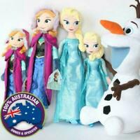 40/50 cm Frozen Princess Anna Elsa & Olaf Snow Queen Stuffed Plush Toy Christmas
