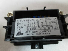 RED LION CONTROLS CUB4LP/CL LOOP POWERED PROCESS INDICATOR / METER - USED, but..