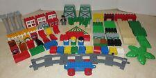 Lego Duplo Tyco 83 Piece Thomas & Friends Bricks Cranky Crane Parts Train Tracks