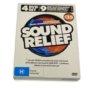 Australian Sound Relief - 4 DVD Box Set - AusPost with Tracking Region 4