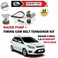 FOR FORD GRAND C MAX 1.6 ECOBOOST 2010-  TIMING CAM BELT KIT + WATER PUMP SET