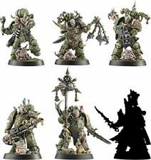 Space Marine Heroes Series 3 Japan Limited 6 Unique Heroes Death Guard