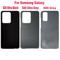 Replacement Back Battery Cover Housing Shell For Samsung Galaxy S20/ S20 Ultra