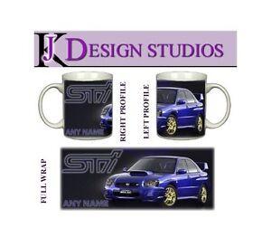 Subaru Personalised Fan Mug