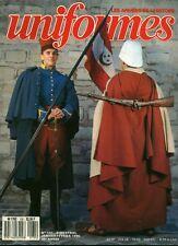 Revue magazine militaire uniformes armées de l'histoire no 131 jan fév 1990 book