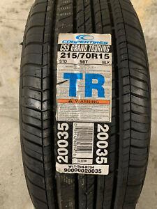1 New 215 70 15 Cooper CS5 Grand Touring Tire