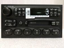 Cassette radio w/ CDC. OEM original. Factory remanufactured. For Mercury Nissan