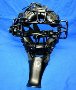 ALL-STAR Catchers Mask Model FM25 LARGE & Neck Guard and all Straps Baseball