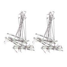 20pcs Luminous Balance T-shape Swivels Terminal Tackle Fishing Accessories