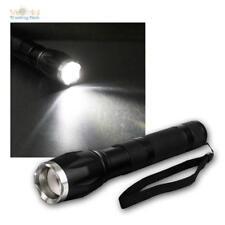 Led Foco Linterna Eléctrica 15W con Función de Zoom 560 Lumen IP44 + Sos