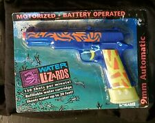 Water Lizards Motorized BO 9 Mm Automatic Squirt Gun Larami store stock moc