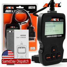 Ancel Ad310 OBD2 EOBD Scanner Check Engine Fault Car Code Reader Diagnostic Tool