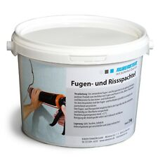 Orig. Ruberstein®  Rissspachtel hellgrau, Mörtel für Riss, 2 kg im Eimer