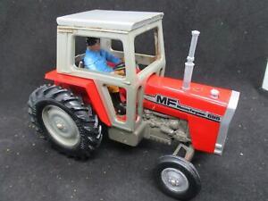 Vintage Britains Farm Tractor Massey Ferguson MF 595 - ALL Original
