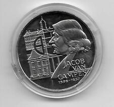 Münzen 10 ECU Niederlande 1996 Jakob_van_Campen (1596-1657)