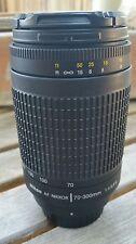 Nikon af zoom-nikkor 70-300mm f/4-5.6g lens (nice)