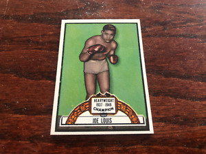 RARE 1951 TOPPS RINGSIDE JOE LOUIS  BOXING CARD  HIGH GRADE!