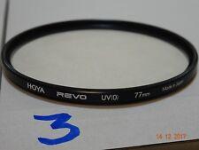 Hoya Revo SMC UV 77 mm 0 Multi revestido Perfecto Estado Precio de ganga.