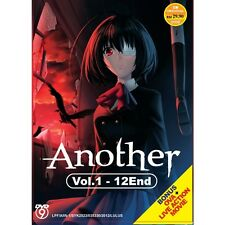 Another ( Vol.1-12 End ) + Live Action Movie DVD Box Set with English SUB
