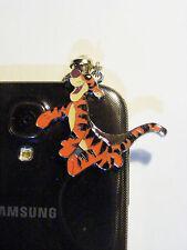 Tigger Winnie the Pooh Dust plug cell phone charm Ipod Smart phone Jewelry