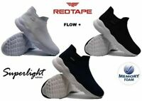 Mens Casual Walking Running Gym Sports Memory Foam Slip On Trainers Shoes Size