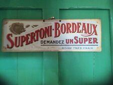 Original Vintage French Drinks Advertising Sign