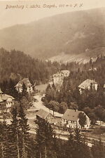 24273 AK Tal Bärenfels im Ost Erzgebirge Häuser Straße 1916