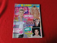 Vintage Rock N' Roll Pop Magazine Bop 'N Sync Backstreet Boys 2000