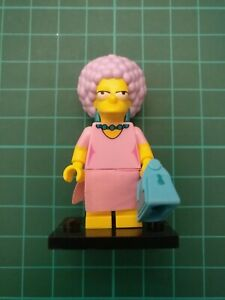 PATTY BOUVIER colsim2-12 The Simpsons Series 2 Lego Minifigure