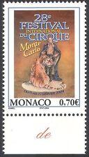 Mónaco 2003 Tiger/domador/Festival Circo/Animales de Vida Silvestre// Gatos/naturaleza 1v (n41481)