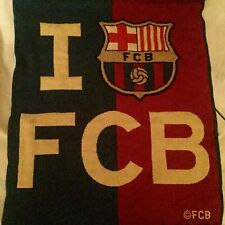 FC Barcelona Hanging Flag. New With Tags.