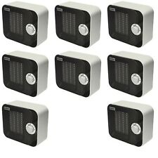 8 x Adax VV21CA Portable Electric Fan Heaters. Camping / Caravan / Office Space