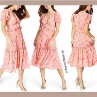 NWT LoveShackFancy for Target Dainty Fleur floral Midi Dress [ SZ 12 ] #E950