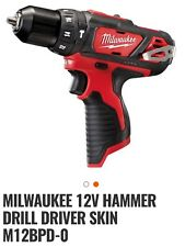 Milwaukee M12 BPD 12 Volt Hammer Drill Driver Skin only