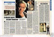Coupure de presse Clipping 1990 (1 page 1/2 ) Dossiers secrets Jack l'Eventreur