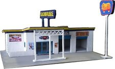 N scale Golden Fleece Service station Laser cut timber kit