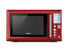 Breville BMO735CRN Quick Touch Microwave, Cranberry